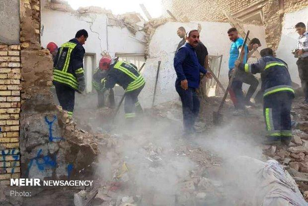 انفجار در منزل مسکونی اهواز، 3 نفر مصدوم شدند