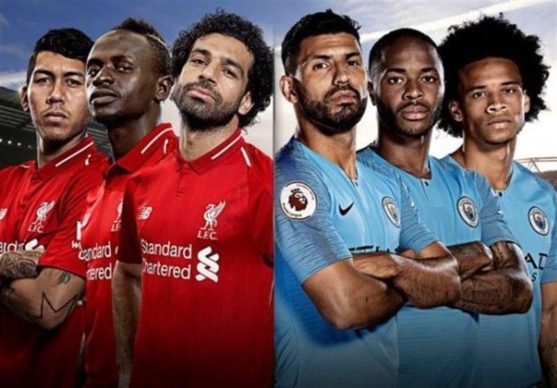 فوتبال دنیا، اعلام ترکیب 11 نفره لیورپول و منچسترسیتی