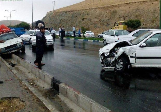 وقوع دو تصادف در محور چالوس، 7 نفر مصدوم شدند