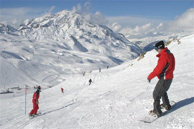 پیست اسکی کوهرنگ؛ چشم انتظار بارش برف