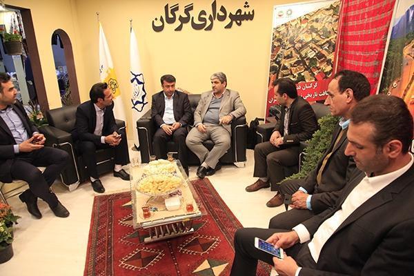 نشست هم فکری با آژانس های گردشگری خوزستان در بخش نمایشگاهی استان گلستان
