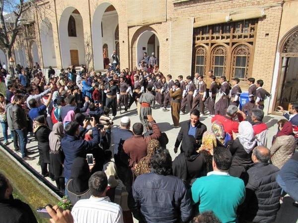 اجرای مراسم نوروزگاه در استان کردستان به مناسبت نوروز 98