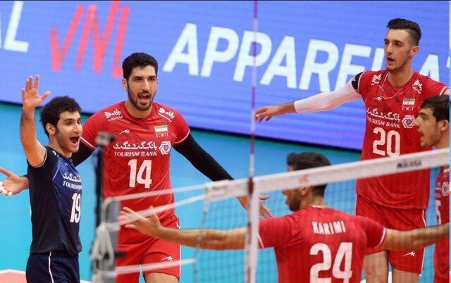 لیگ ملت های والیبال، پیروزی سه بر صفر ایران مقابل بلغارستان