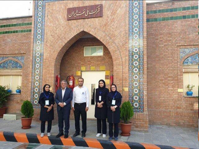 بازدید رئیس شورای شهر تهران از موزه پمپ بنزین دروازه دولت