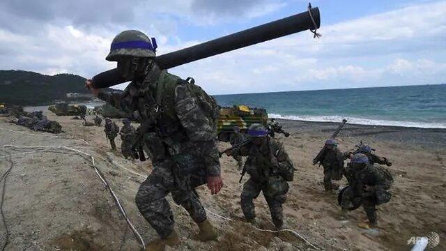 آغاز مانور نظامی مشترک آمریکا و کره جنوبی
