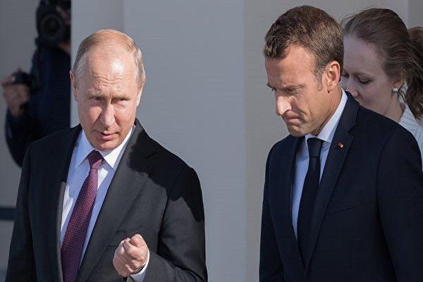 ماکرون جهت متقاعد کردن پوتین برای مذاکره با اوکراین تلاش می کند
