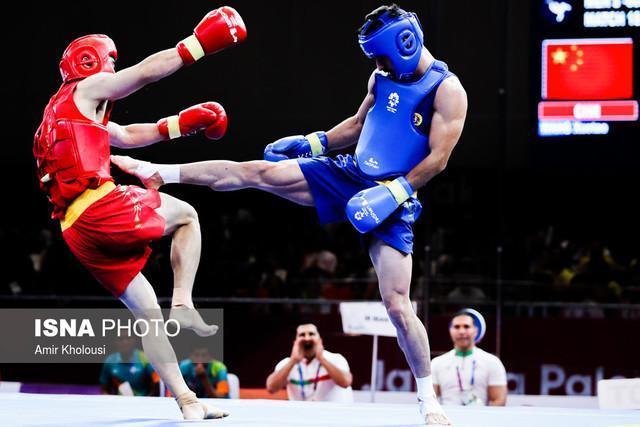 یک طلا و 2 برنز ووشوکاران جوان ایران در روز دوم قهرمانی آسیا