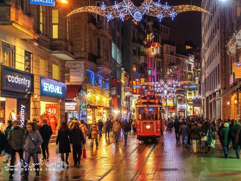 تفریحات شبانه استانبول را از دست ندهید