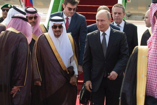 پوتین وارد عربستان شد