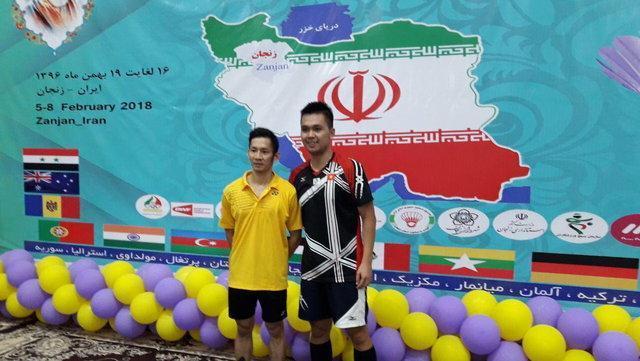 قهرمانی بدمینتون باز ویتنامی در مسابقات بین المللی فجر ایران