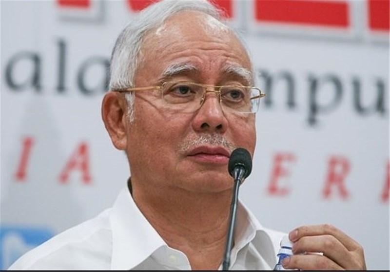 حضور نخست وزیر سابق مالزی در دادگاه