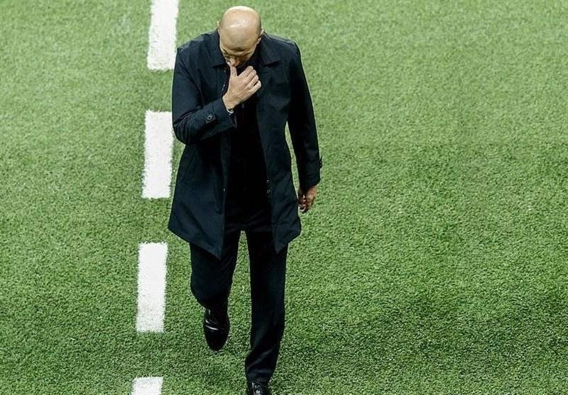 زیدان در صورت شکست رئال مادرید مقابل گالاتاسرای اخراج می گردد
