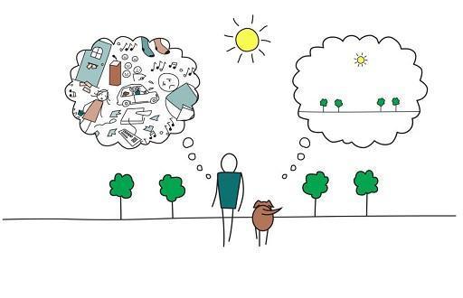 چگونه در لحظه زندگی کنیم (