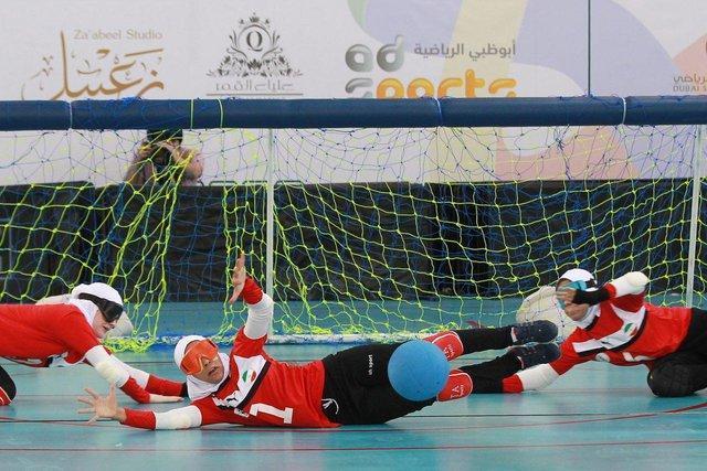 پیروزی گلبال دختران ایران برابر تایلند