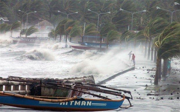 تلفات طوفانِ فیلیپین به 200 تن رسید