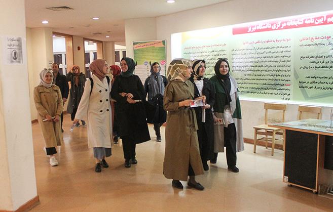 دانشجویان ترکیه ای از دانشگاه تبریز بازدید کردند