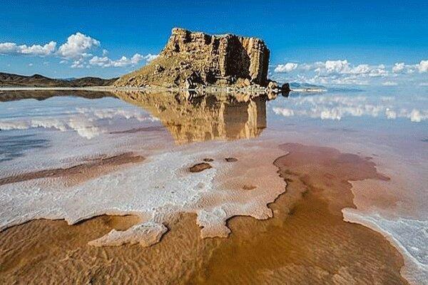 آب دریاچه ارومیه یکساله 3 برابر شد