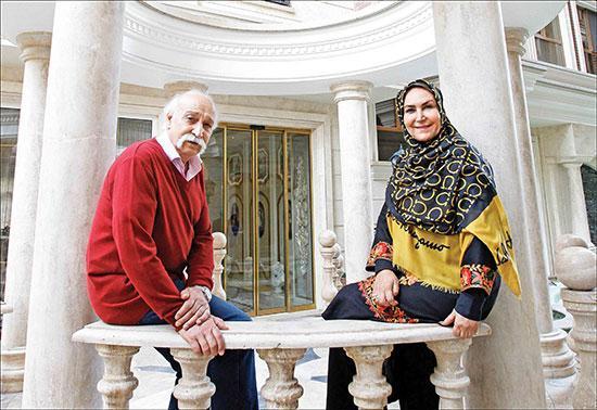 راز 40 سال زندگی عاشقانه محمود پاک نیت و مهوش صبرکن