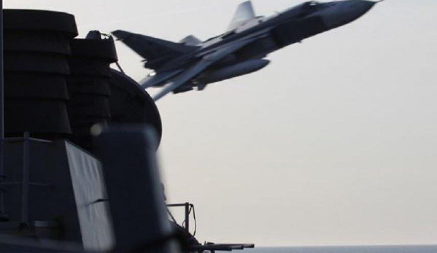 جنگنده های روسی حمله به ناو آمریکایی را تمرین کردند