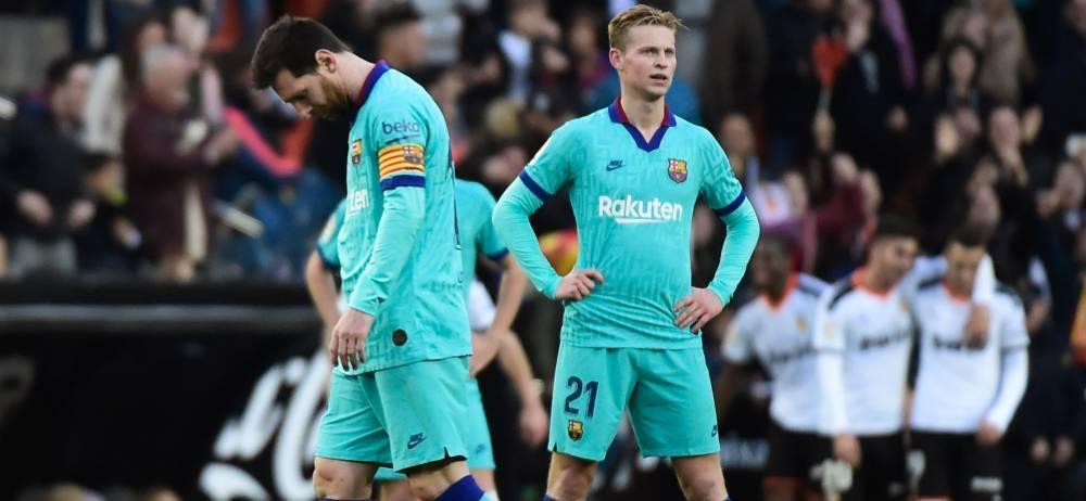 نارضایتی بازیکنان بزرگ بارسلونا از کیکه ستین!