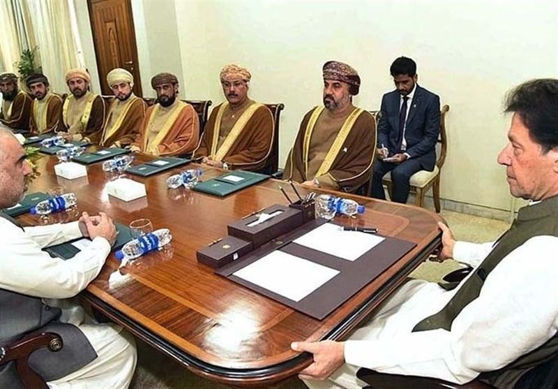 ملاقات هیات مجلس عمان با عمران خان و مصاحبه درباره مساله کشمیر