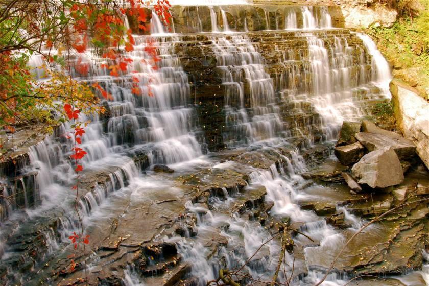 پایتخت واقعی آبشار دنیا، تنها در 80 کیلومتری نیاگارا