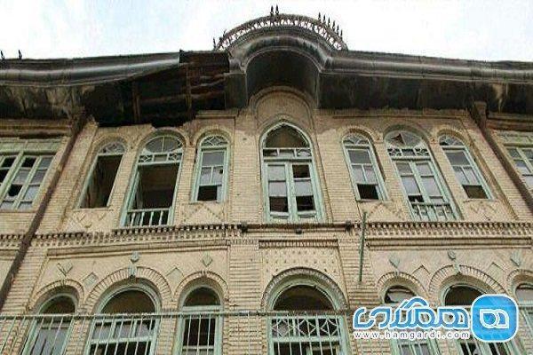 احتیاج عمارت جنانی به مرمت و احیای اساسی