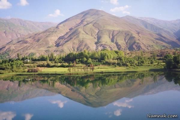 قطعه ای بسیار زیبا به نام دریاچه اوان