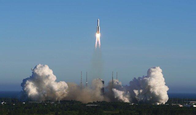 نسل جدید فضاپیمای چین به فضا رفت