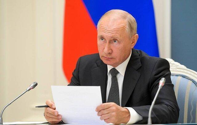 تعهد پوتین به ساخت کشتی های جنگی