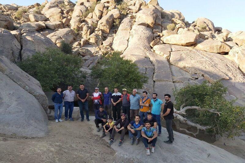 خبرنگاران نخستین سایت سنگ نوردی آذربایجان غربی ثبت ملی می شود