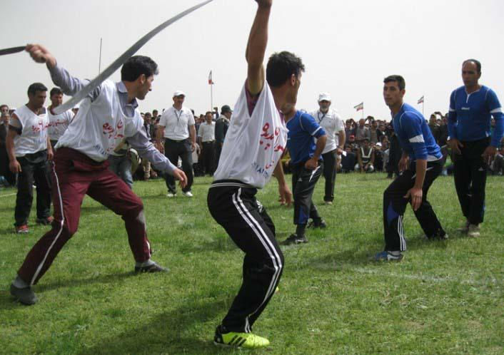 بازی محلی قیش بازی زنجان