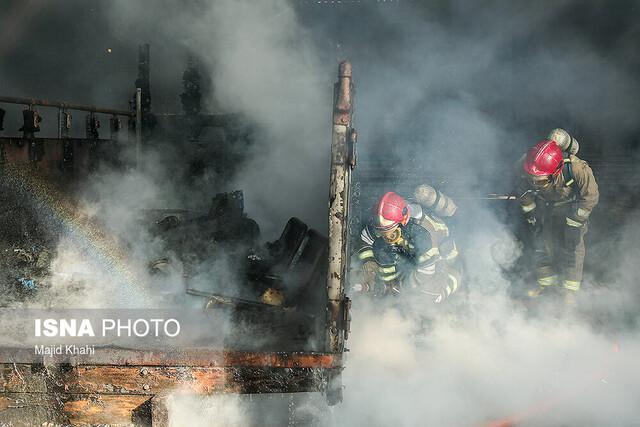 جزئیات وقوع آتش سوزی در ساختمان برق منطقه ای خوزستان