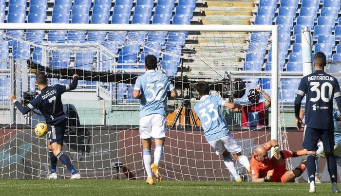 لاتزیو 1-1 یوونتوس؛ گل رونالدو دقیقه 95 پرپر شد
