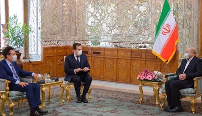ملاقات سفرای ایتالیا و پاکستان با رئیس مجلس