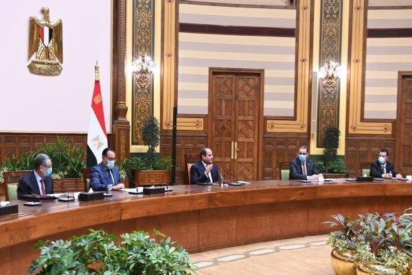 ملاقات هیأت عراقی با السیسی، فعال&zwnjسازی توافق بازسازی در برابر نفت