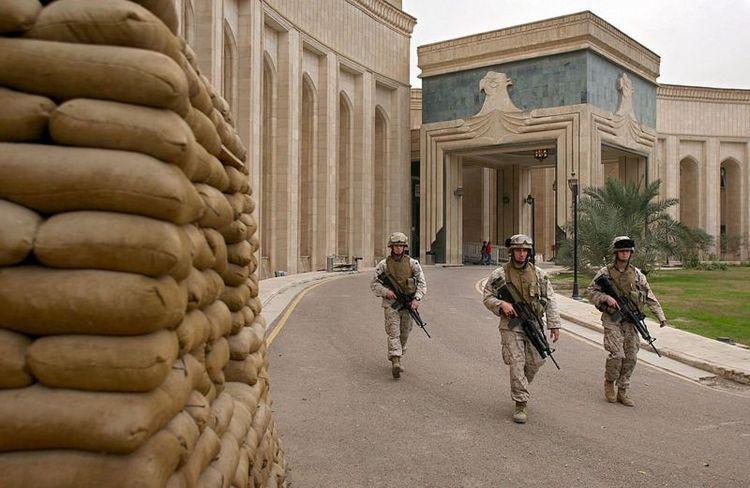 منطقه سبز بغداد هدف اصابت چند موشک کاتیوشا قرار گرفت