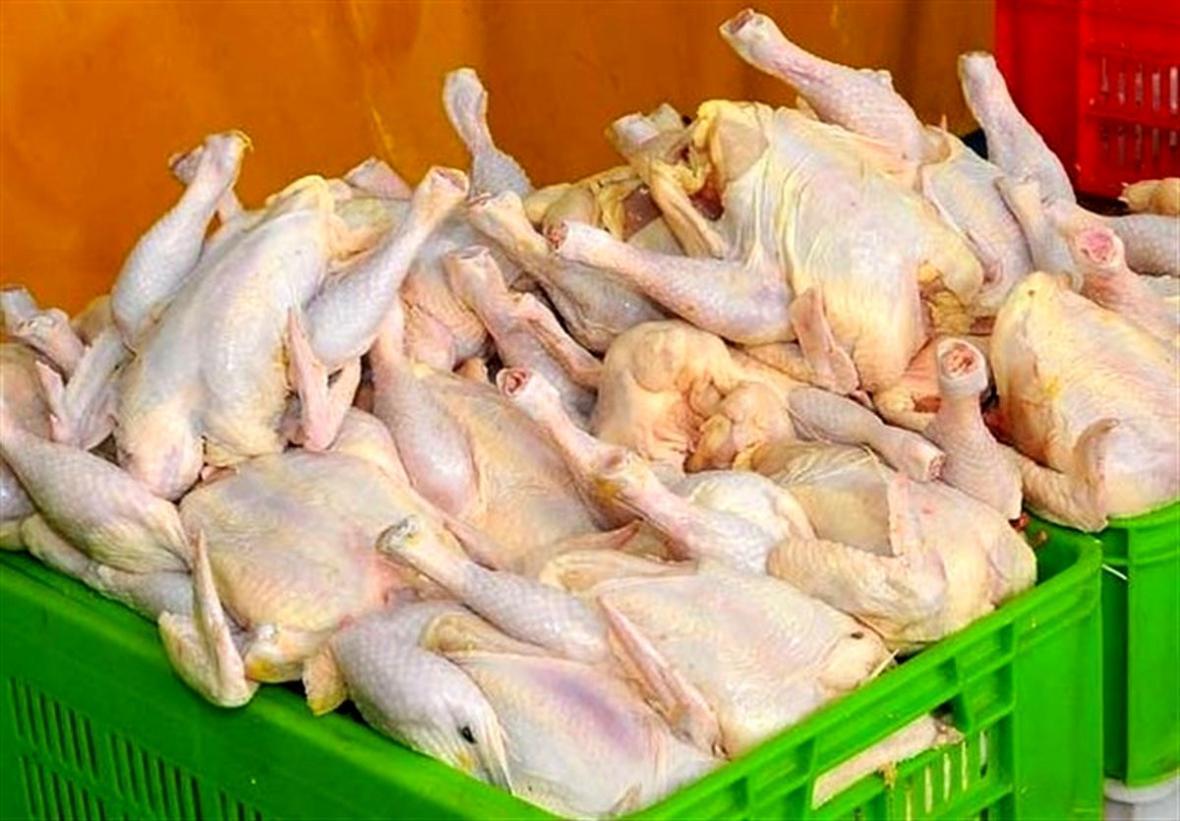 قیمت مصوب هر کیلو مرغ گرم 20 هزار و 400 تومان است