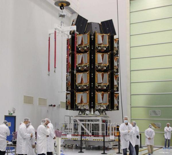 استقرار 36 ماهواره اینترنتی وان وب در مدار زمین با استفاده از راکت فضایی روسیه
