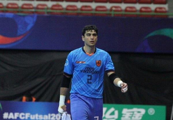 صمیمی: دوست دارم با قهرمانی در آسیا به جام جهانی فوتسال برویم
