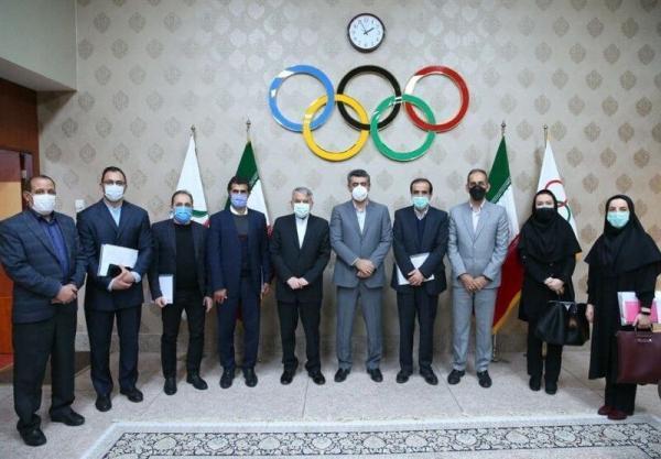 خبرنگاران برگزاری جلسه هیات رئیسه فدراسیون ورزشهای ناشنوایان با حضور صالحی امیری