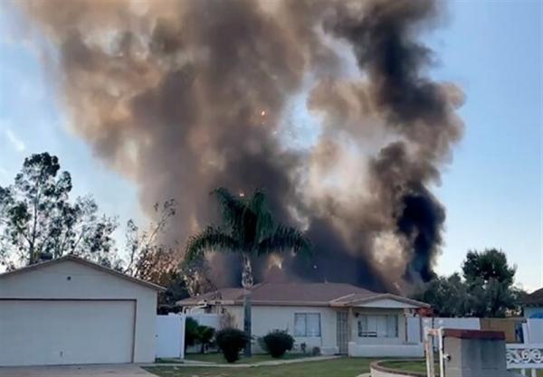 وقوع انفجار مهیب در کالیفرنیا