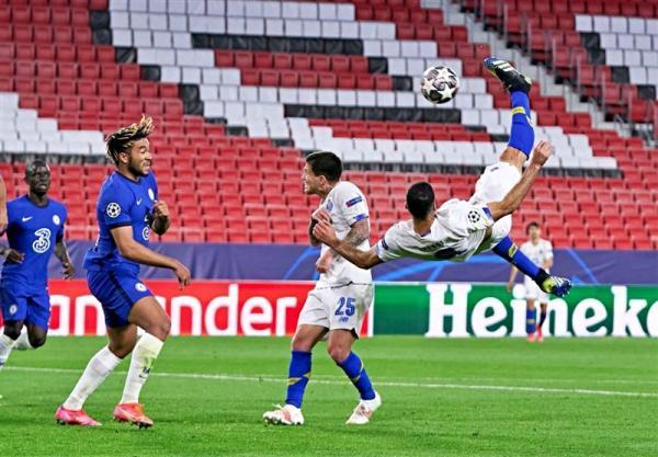 سوپرگل طارمی بهترین گل دور برگشت مرحله یک چهارم نهایی لیگ قهرمانان اروپا شد