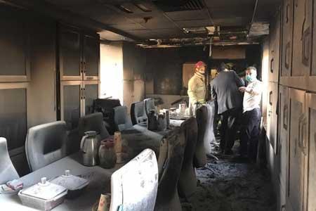 جزئیات حادثه آتش سوزی در بیمارستان بقیه الله