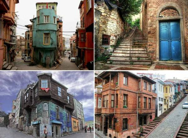 سفرنامه استانبول ترکیه در محله بالات استانبول